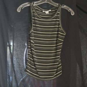 Charlotte russe stripped tank top
